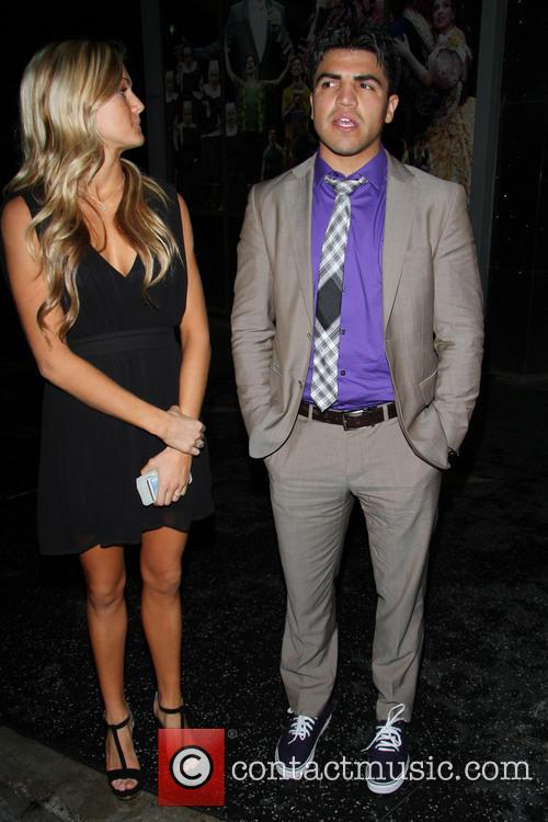 Victor Ortiz and Lindsay Arnold 2
