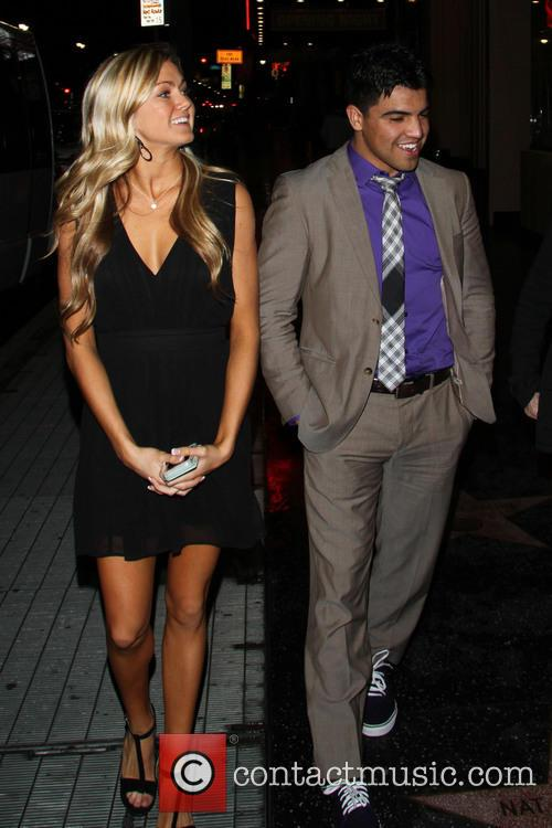 Victor Ortiz and Lindsay Arnold 1