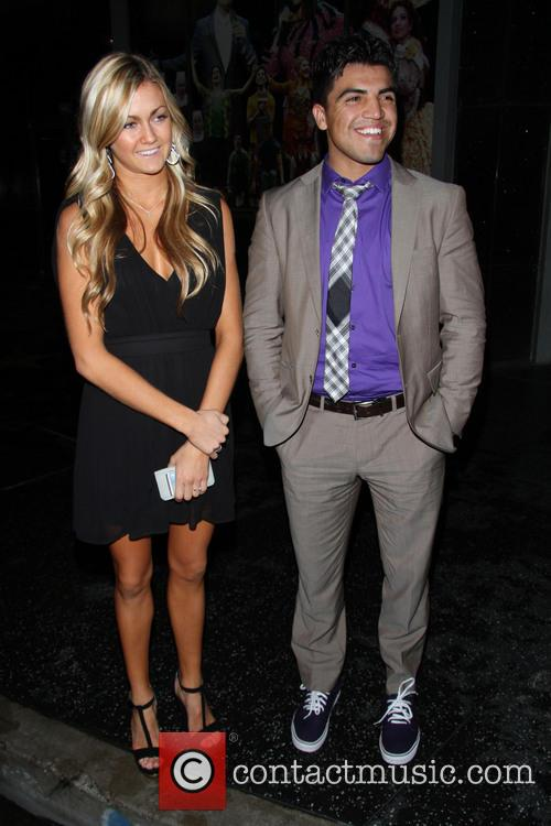 Victor Ortiz and Lindsay Arnold 3