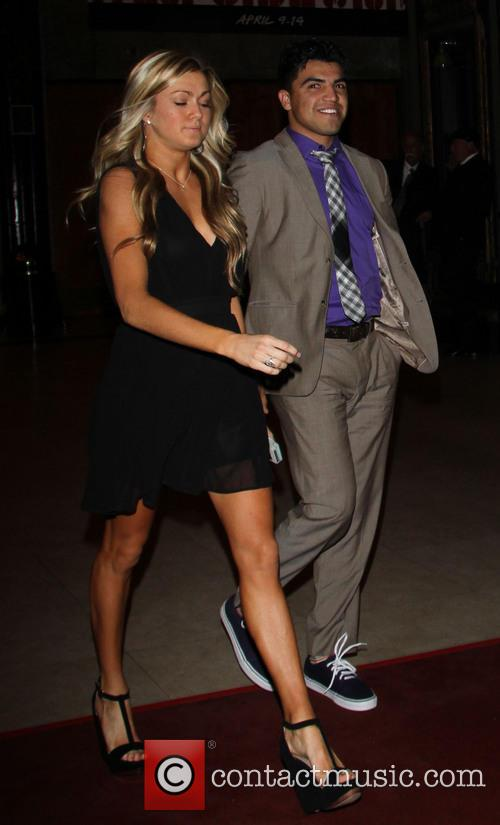 Victor Ortiz and Lindsay Arnold 4