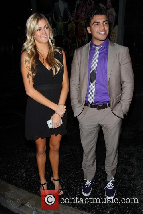 Victor Ortiz and Lindsay Arnold 5