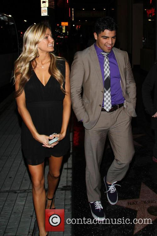 Victor Ortiz and Lindsay Arnold 6