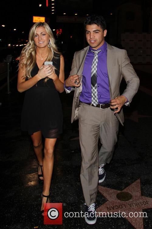 Victor Ortiz and Lindsay Arnold 7