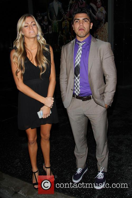 Victor Ortiz and Lindsay Arnold 8