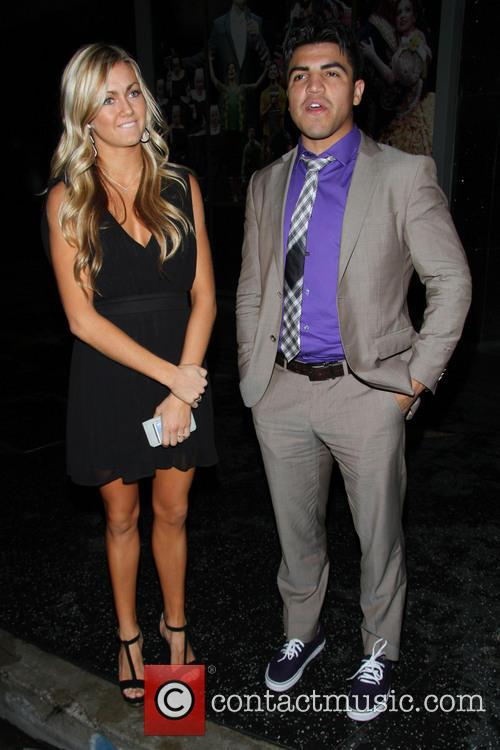 Victor Ortiz and Lindsay Arnold 11