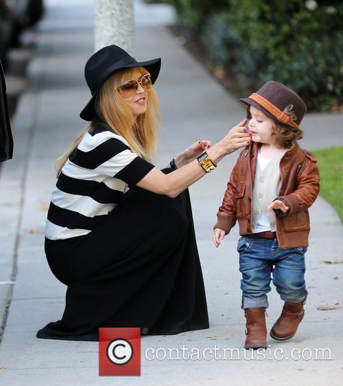 Rachel Zoe With Son Skyler