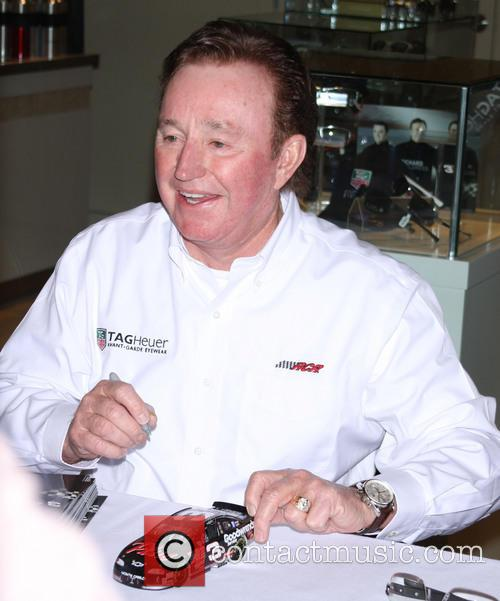 Nascar legend Richard Childress and his racing grandsons...