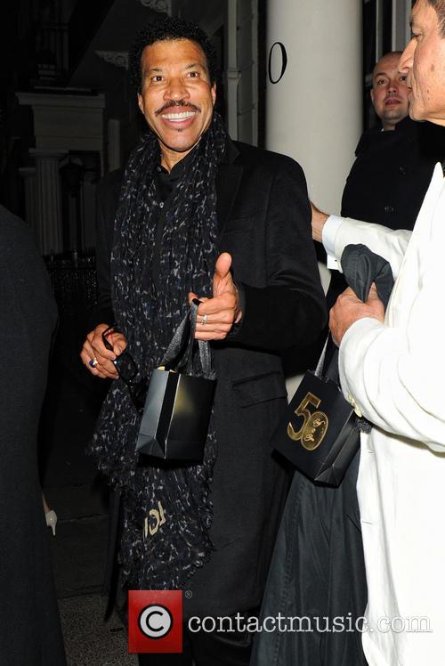 lionel richie celebrities leave the arts club 3546988