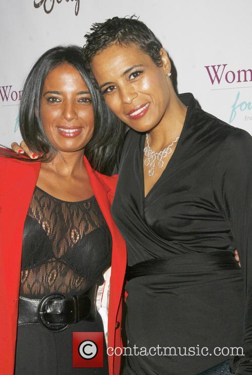 Ilhame Paris and Daphne Wayans 1
