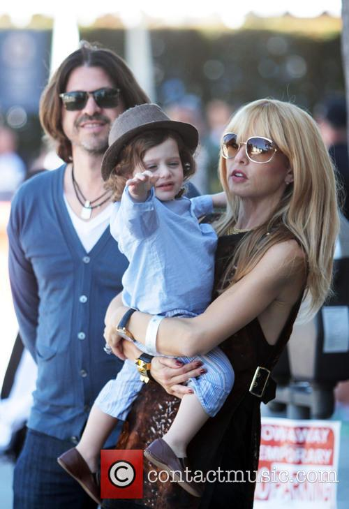 Rachel Zoe, Skyler Berman and Rodger Berman 2