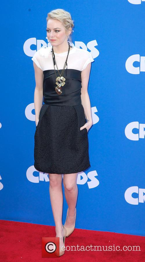 emma stone the croods premiere at amc 3547625