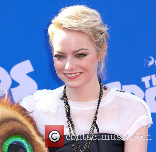 emma stone the croods premiere at amc 3547642