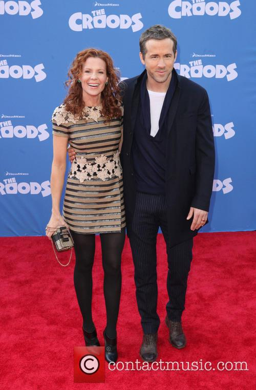 Robyn Lively and Ryan Reynolds 2