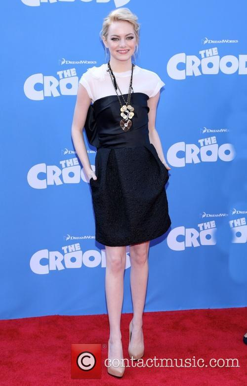 emma stone the croods premiere at amc 3547709