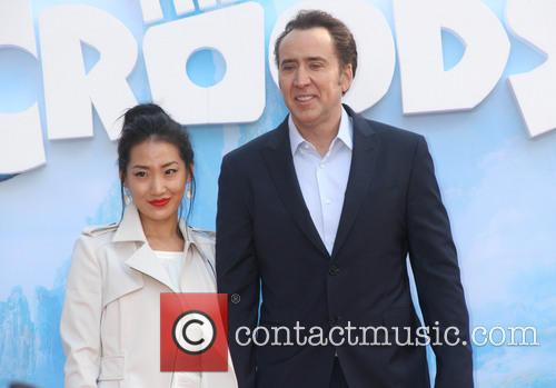 Alice Kim and Nicolas Cage 6