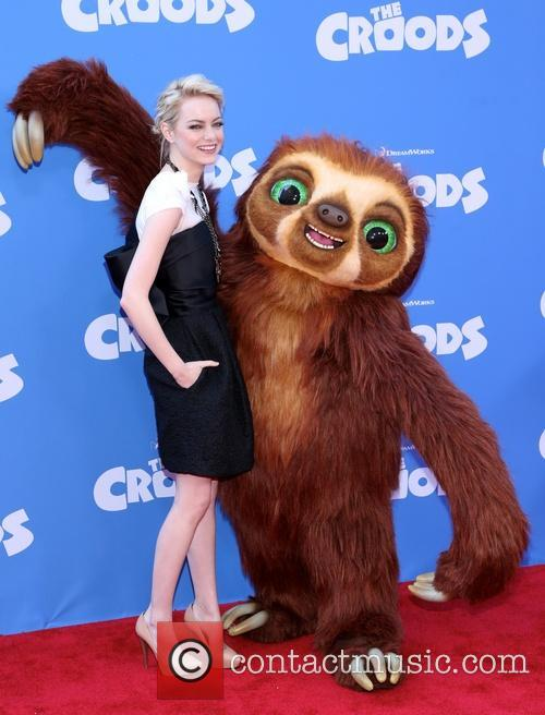 emma stone the croods premiere at amc 3547783