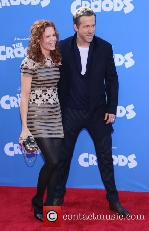 Robyn Lively and Ryan Reynolds 5