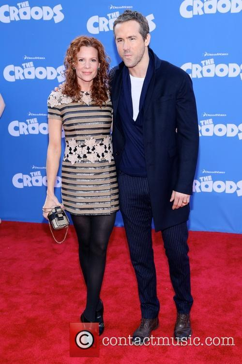 Robyn Lively and Ryan Reynolds 6