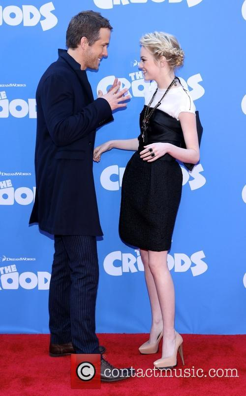 Ryan Reynold and Emma Stone 1