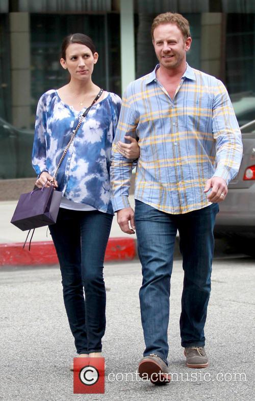 Ian Ziering and Erin Kristine Ludwig 2