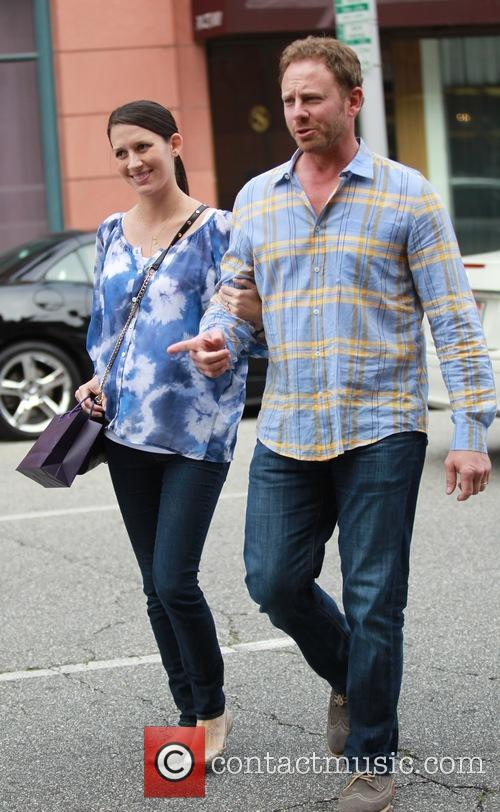 Ian Ziering and Erin Kristine Ludwig 3
