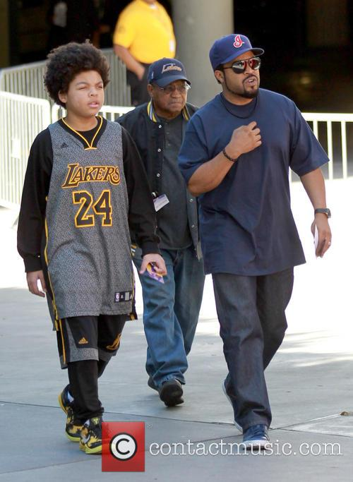 Ice Cube, Shareef Jackson, Staples Center