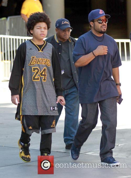 Ice Cube and Shareef Jackson