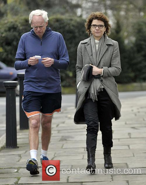 Vicky Pryce goes shopping with a friend in...