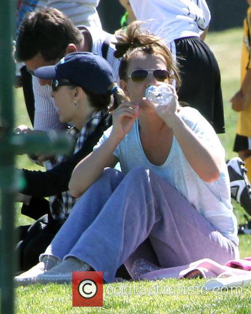 Britney Spears Soccer Match