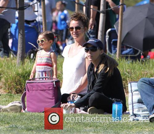 britney spears britney spears soccer match 3548133