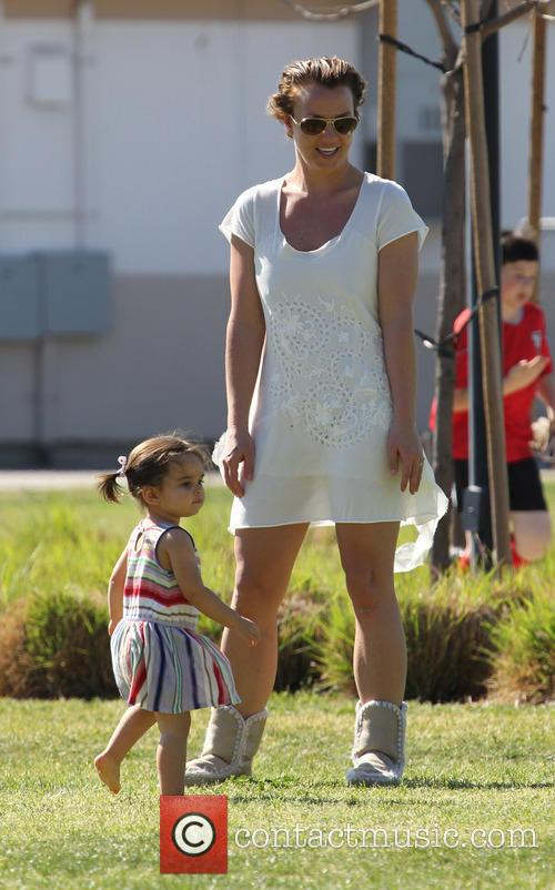 britney spears britney spears soccer match 3548134