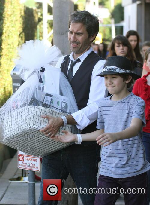 Eric Mccormack and Finnigan Mccormack 4