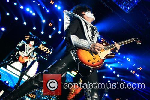 KISS perform live