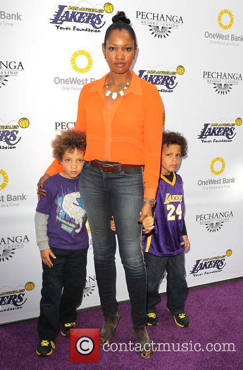 Garcelle Beauvais, Jaid Thomas Nilon and Jax Joseph Nilon 5