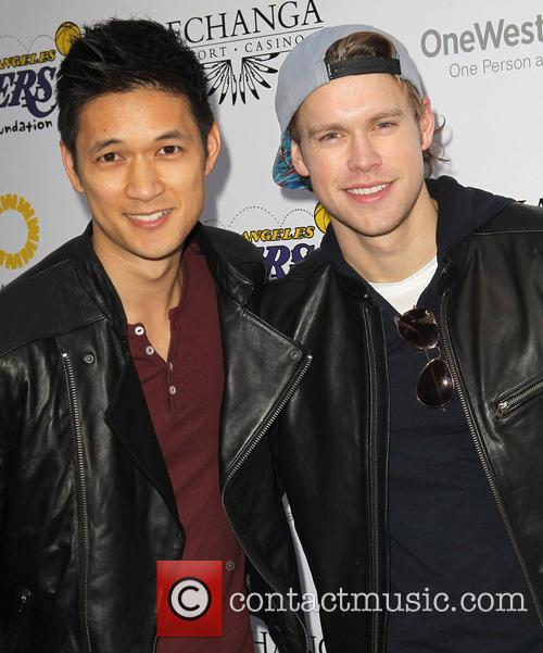 Harry Shum Jr. and Chord Overstreet 3