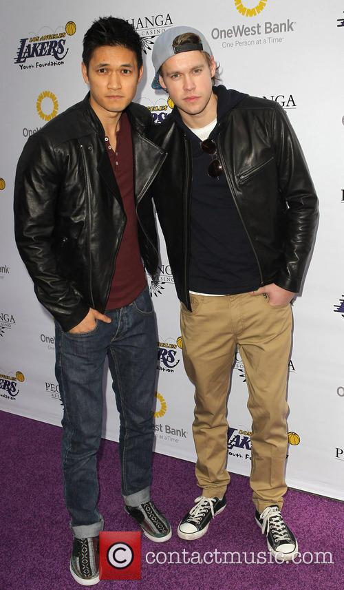 Harry Shum Jr. and Chord Overstreet 4