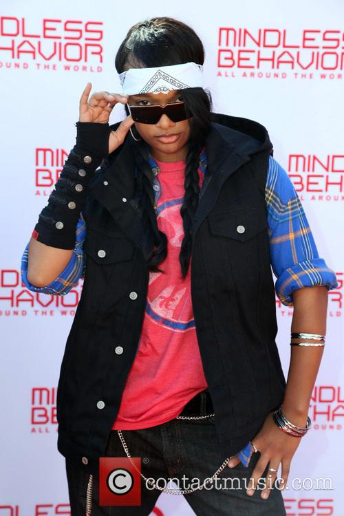 Mindless Behavior and A'lonna Indan 6