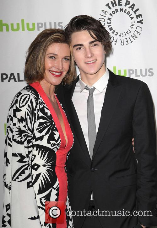 Brenda Strong and Zak Henri 6