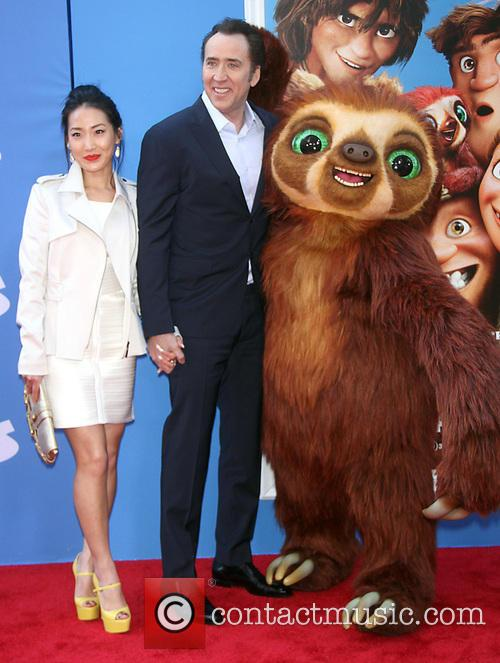 Alice Kim and Nicholas Cage 7