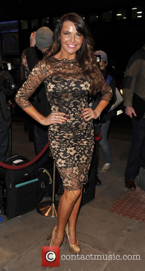 lizzie cundy burn the floor press night 3549466