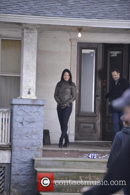 Lucy Liu and Jonny Lee Miller 2