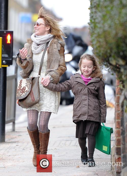 Geri Halliwell and Bluebell Madonna 16