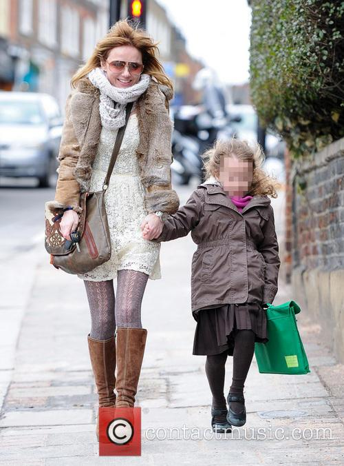 Geri Halliwell and Bluebell Madonna 20