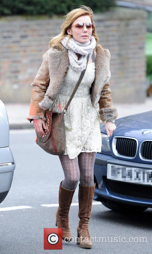 Geri Halliwell out and about