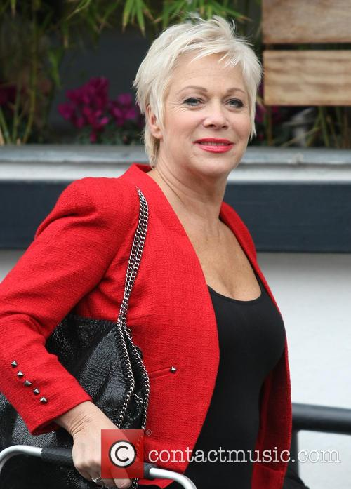 Celebrities outside the ITV studios