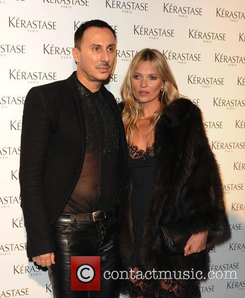 Kate Moss at an event at One Mayfair