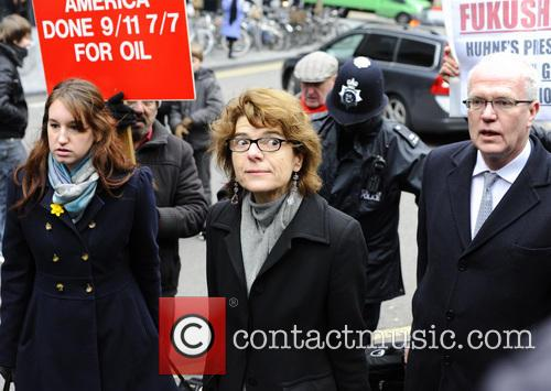 Vicky Pryce arrives at Southwark crown court to...