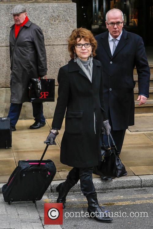 Vicky Pryce arrives at court