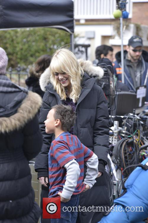 'The Amazing Spider-Man 2' set