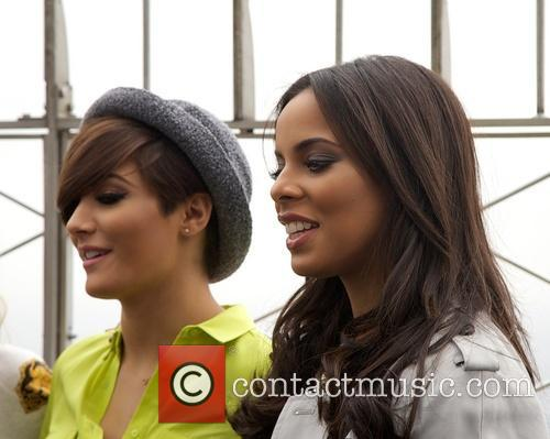 Frankie Sandford, Rochelle Humes and Rochelle Wiseman 2